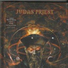 CDs de Música: JUDAS PRIEST DOBLE CD + LIBRO NOSTRADAMUS PRECINTADO.2008. Lote 57096346