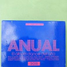 CDs de Música: ANUAL - EL ALBUM DANCE DEL AÑO 2011 - 3 CD - BUEN ESTADO. Lote 57099596