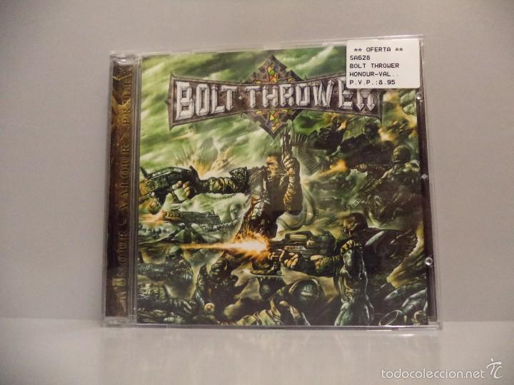 BOLT THROWER - HONOUR, VALOUR, PRIDE (Música - CD's Heavy Metal)