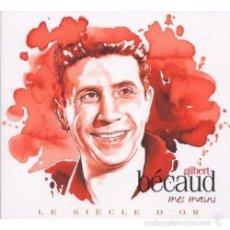 CDs de Música: GILBERT BECAUD 2 CD * LE SIECLE D'OR * DIGIPACK * RARE * PRECINTADO!!. Lote 57119827