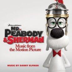 CDs de Música: MR PEABODY AND SHERMAN (B.S.O) * CD * TEMA DE JOHN LENNON * PRECINTADO DE FÁBRICA * RARE. Lote 57120550