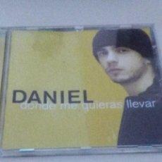 CDs de Música: DANIEL DONDE ME QUIERAS LLEVAR.. Lote 60377877