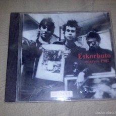 CDs de Música: CD ESKORBUTO ENSAYOS 1982 . Lote 57132144