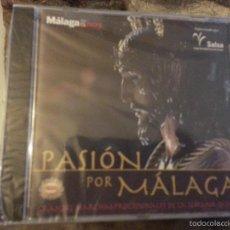 CDs de Música: CD PASION POR MALAGA - SEMANA SANTA - GRANDES MARCHAS PORCESIONALES - CORNETAS Y TAMBORES I . Lote 57144772