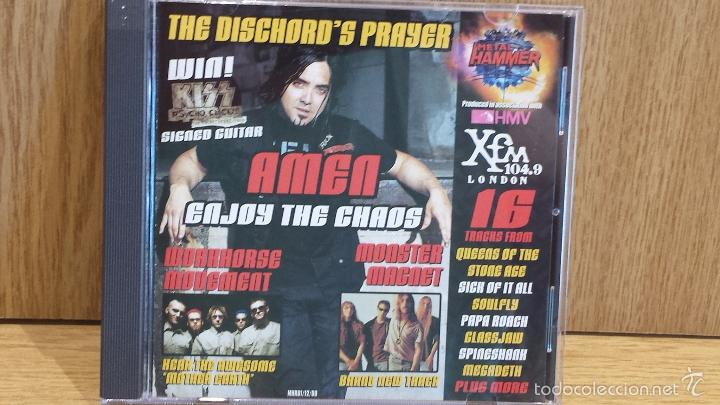 METAL HAMMER. ISSUE 81 DECEMBER 2000. CD-RECOPILATORIO / LUJO. (Música - CD's Heavy Metal)