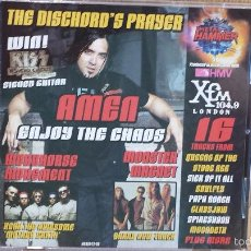 CDs de Música: METAL HAMMER. ISSUE 81 DECEMBER 2000. CD-RECOPILATORIO / LUJO.. Lote 57150581