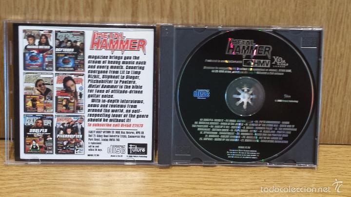 CDs de Música: METAL HAMMER. ISSUE 81 DECEMBER 2000. CD-RECOPILATORIO / LUJO. - Foto 2 - 57150581