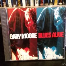 CDs de Música: GARY MOORE - BLUES ALIVE. Lote 57161494