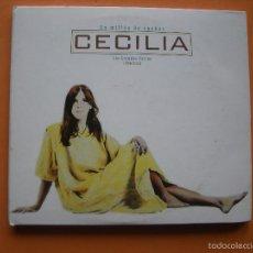 CDs de Música: UN MILLON DE SUEÑOS CECILIA LOS GRANDES EXITOS 1976-2005 / DIGIPACK DOBLE CD + DVD. Lote 57161553