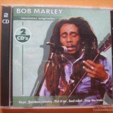 CDs de Música: BOB MARLEY DOBLE CD VERSIONES ORIGINALES 1999 PEPETO. Lote 57184050