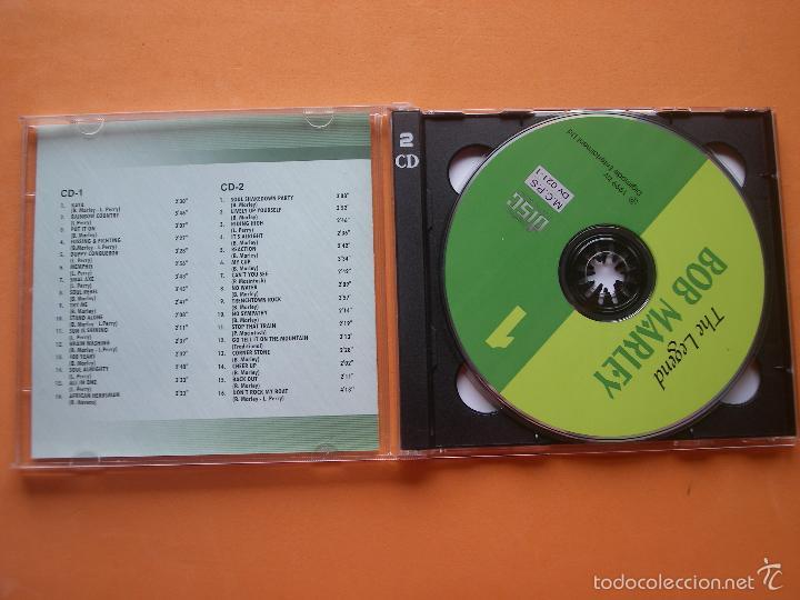 CDs de Música: BOB MARLEY DOBLE CD VERSIONES ORIGINALES 1999 PEPETO - Foto 2 - 57184050
