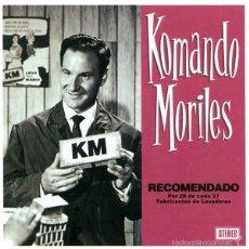 CDs de Música: KOMANDO MORILES RECOMENDADO POR 28 DE CADA 27...CD SKA. Lote 57192946