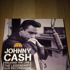 CDs de Música: JOHNNY CASH - WALKING THE LINE: THE LEGENDARY , SUN RECORDINGS 3CDS BOX . Lote 57193203