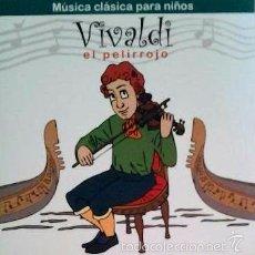 CDs de Música: MÚSICA CLÁSICA PARA NIÑOS - VIVALDI EL PELIRROJO - DISCO LIBRO CD . Lote 57198139