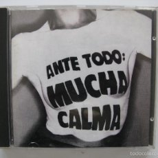 CDs de Música: CD SINIESTRO TOTAL - ANTE TODO MUCHA CALMA. Lote 57208553