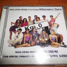 CDs de Música: KILOMETRO CERO BANDA SONORA CD ALBUM DEL AÑO 2000 JOAN BIBILONI ISMAEL SERRANO TIENE 10 TEMAS KM 0. Lote 57218400