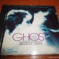 CDs de Música: GHOST BANDA SONORA CD ALBUM DEL AÑO 1990 USA VARESE MUSICA DE MAURICE JARRE CONTIENE 8 TEMAS. Lote 57218485