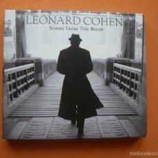 CDs de Música: LEONARD COHEN - SONGS FROM THE ROAD - CD + DVD - DIGIPAK PEPETO. Lote 57219312