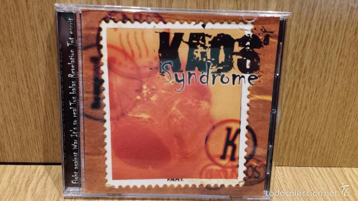 KAOS. SYNDROME. CD-MINI ALBUM / HORUS - 1998 / CALIDAD LUJO - RARO. (Música - CD's Heavy Metal)