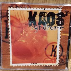 CDs de Música: KAOS. SYNDROME. CD-MINI ALBUM / HORUS - 1998 / CALIDAD LUJO - RARO.. Lote 57223501
