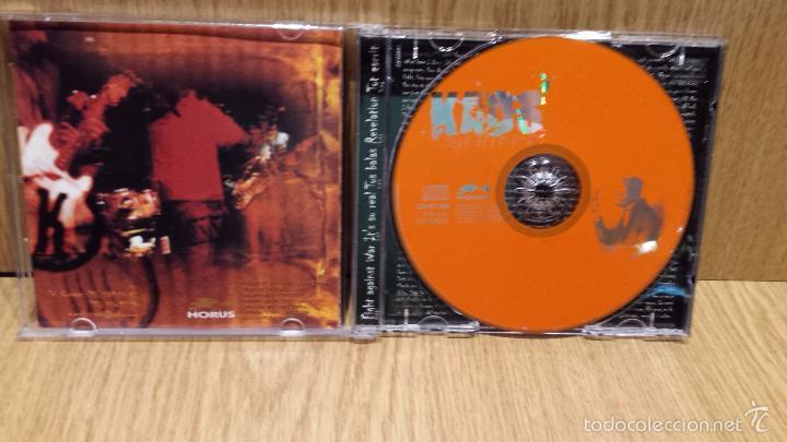 CDs de Música: KAOS. SYNDROME. CD-MINI ALBUM / HORUS - 1998 / CALIDAD LUJO - RARO. - Foto 2 - 57223501