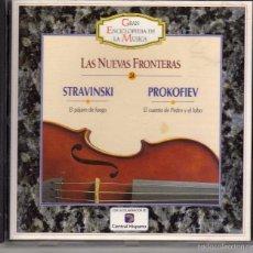 CDs de Música: CD STRAWINSKI Y PROKOFIEV, LAS NUEVAS FRONTERAS. GRAN ENCICLOPEDIA DE LA MÚSICA Nº 26. Lote 57226998