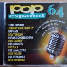 CDs de Música: * POP ESPAÑOL 64 - ARTISTAS ORIGINALES - ÁLBUM CD 2000 - LEER DESCRIPCIÓN. Lote 57236286