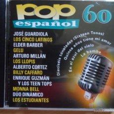 CDs de Música: * POP ESPAÑOL 60 - ARTISTAS ORIGINALES - ÁLBUM CD 2000 - LEER DESCRIPCIÓN. Lote 57236541