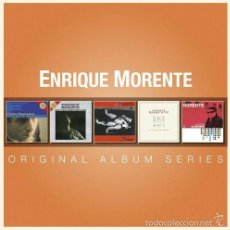 CDs de Música: ENRIQUE MORENTE * BOX 5 CD * ORIGINAL ALBUM SERIES * CAJA PRECINTADA!!!. Lote 235700480