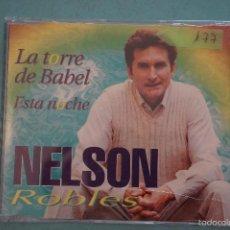 CDs de Música: CD PROMOCIONAL DE PLÁSTICO:NELSON ROBLES,LA TORRE DE BABEL,AÑO 2000,Nº177. Lote 57261123