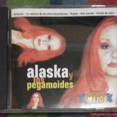 CDs de Música: ALASKA Y LOS PEGAMOIDES (SIMPLEMENTE LO MEJOR) CD 1997 - FANGORIA. Lote 57265793