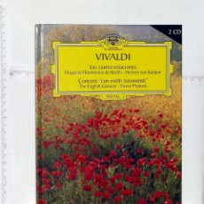 CDs de Música: LIBRO Y DOS CD DE VIVALDI. Lote 57275099