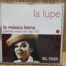 CDs de Música - LA LUPE. LA MÚSICA LATINA. GRANDES MITOS. CD / EL PAÍS - 2000 / LUJO. - 57281333
