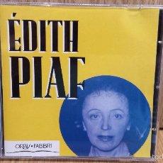 CDs de Música: EDITH PIAF. CD / ORBIS FABBRI - 1995. 14 TEMAS / CALIDAD LUJO.. Lote 57286738