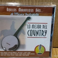 CDs de Música: LO MEJOR DEL COUNTRY. AQUELLOS MARAVILLOSOS AÑOS. CD-PRECINTADO - 12 TEMAS.. Lote 57286847
