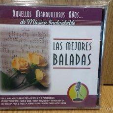 CDs de Música: LAS MEJORES BALADAS. AQUELLOS MARAVILLOSOS AÑOS. CD-PRECINTADO - 12 TEMAS.. Lote 57287072