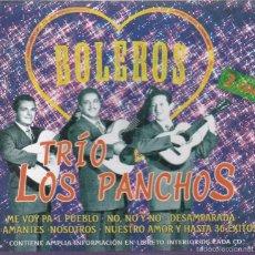 CDs de Música: LOS PANCHOS,BOLEROS DOBLE CDS. Lote 57294797
