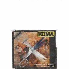 CDs de Música: KOMA BIENVENIDOS. Lote 57310851