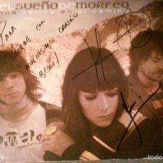 CDs de Música: EL SUEÑO DE MORFEO NOS VEMOS EN EL CAMINO FIRMADO POR EL GRUPO CD.. Lote 57312148