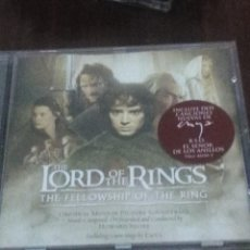 CDs de Música: THE LORD OF THE RINGS. THE FELLOWSHIP OF THE RING. C6CD. Lote 57315914