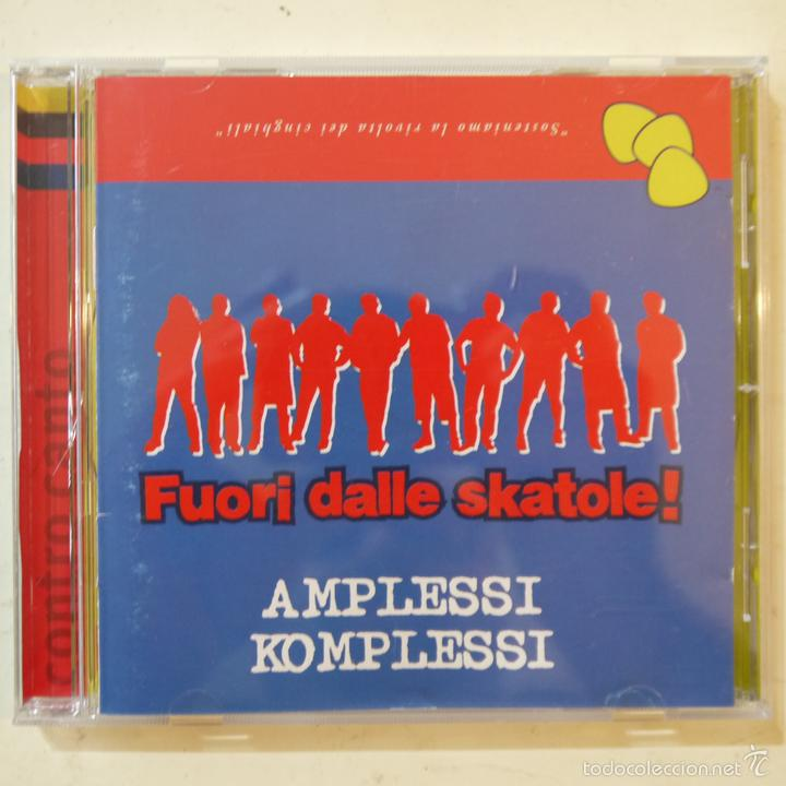 AMPLESSI KOMPLESSI - FUORI DALLE SKATOLE! - CD 1998 (Música - CD's Reggae)