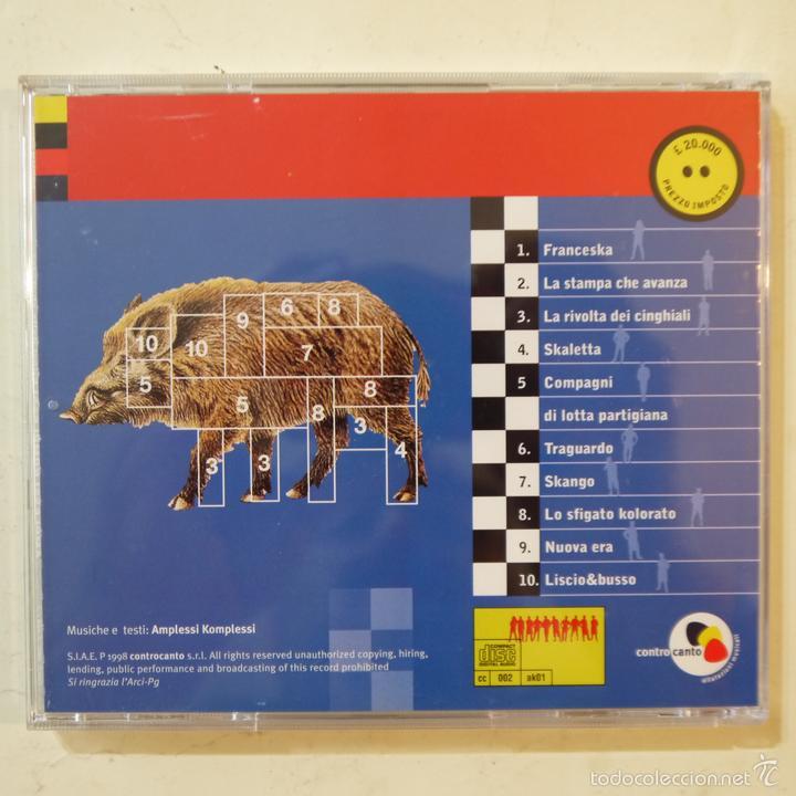 CDs de Música: AMPLESSI KOMPLESSI - FUORI DALLE SKATOLE! - CD 1998 - Foto 2 - 57316076