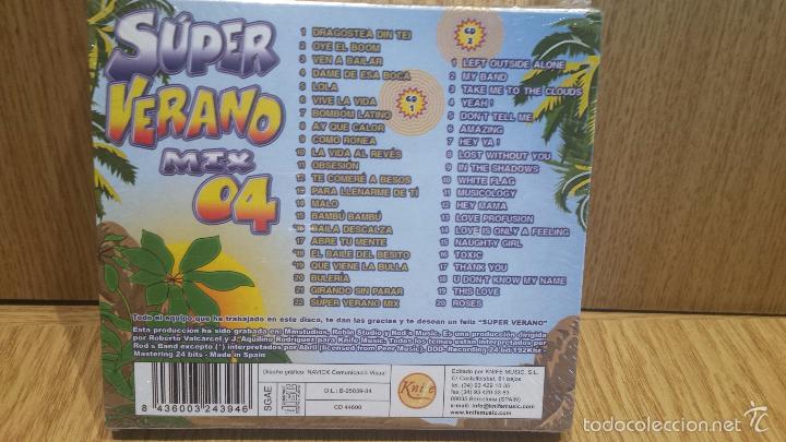 CDs de Música: SÚPER VERANO MIX 04. DOBLE CD / KNIFE MUSIC - 2004. 42 TEMAZOS / PRECINTADO !! - Foto 2 - 57317817