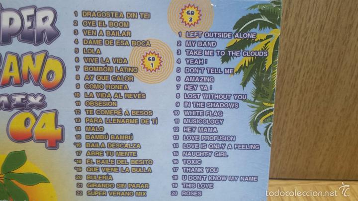 CDs de Música: SÚPER VERANO MIX 04. DOBLE CD / KNIFE MUSIC - 2004. 42 TEMAZOS / PRECINTADO !! - Foto 3 - 57317817