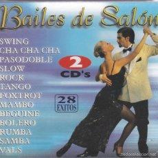 CDs de Música: BAILES DE SALON,VOL 1 Y 2 DOBLE CDS. Lote 57319154