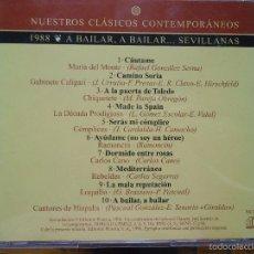 CDs de Música: CD 1988 MARIA DEL MONTE GABINETE GALIGARI CHIQUETETE LOQUILLO REBELDES COMPLICES CARLOS CANO . Lote 57320146