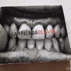 CDs de Música: BARRICADA - BESAME CD+DVD BUEN ESTADO DIFICIL. Lote 57329645