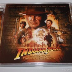 CDs de Música: INDIANA JONES AND THE KINGDOM OF THE CRYSTAL SKULL CD JOHN WILLIAMS SOUNDTRACK . Lote 57330023