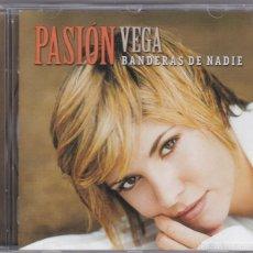 CDs de Musique: PASION VEGA,BANDERAS DE NADIE DEL 2003. Lote 57335463