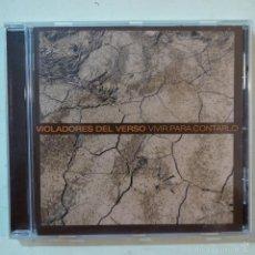 CDs de Música: VIOLADORES DEL VERSO - VIVIR PARA CONTARLO - CD. Lote 62473248